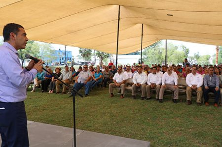 Inaugura Matamoros, primer Parque sustentable en la colonia Pueblo Viejo