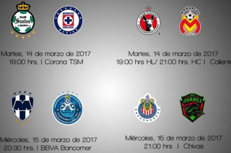 Listos horarios para semifinales de Copa MX