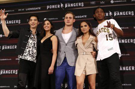 Los 'Power Rangers' visitan México