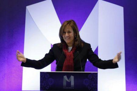 Margarita anuncia que donará pensión si llega a la Presidencia