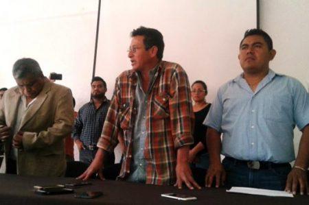 Piden medidas cautelares para profesores agredidos en Oaxaca