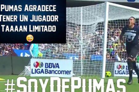 Pumas sale en defensa de Nico Castillo