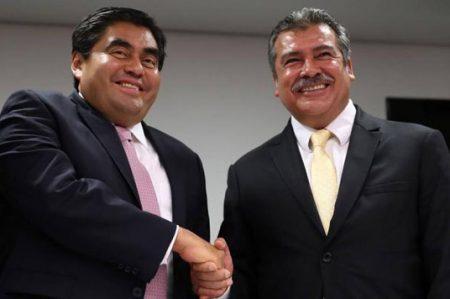 Raúl Morón sostiene que no dejará el PRD