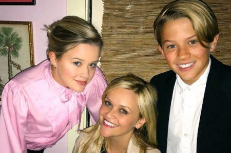 El sorprendente parecido entre Reese Witherspoon y sus hijos