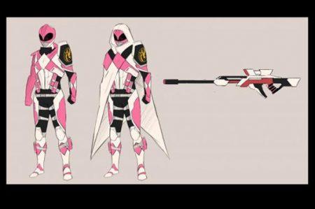 Revelan nuevos diseños de los 'Power Rangers'