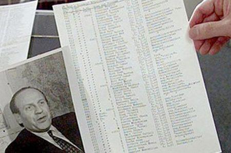 Subastan documento original de la 'lista de Schlinder' por 2.4 mdd