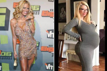 Sorprende figura de ex estrella porno Jenna Jameson embarazada