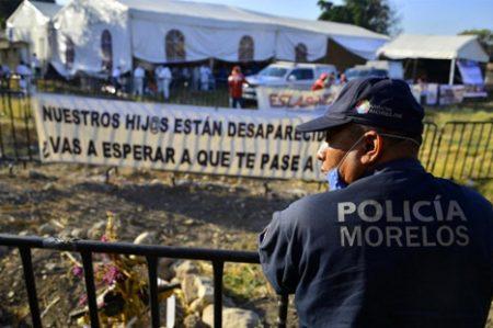 Termina exhumación en fosa de Jojutla, Morelos; recuperan 45 cuerpos