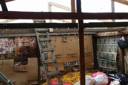 Tornado daña viviendas en La Trinitaria, Chiapas