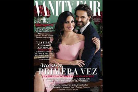 Los actores Ana Brenda e Iván Sánchez comparten amor en revista