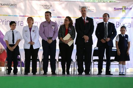 Inicia Primera Semana Nacional de Salud Bucal en Nuevo León