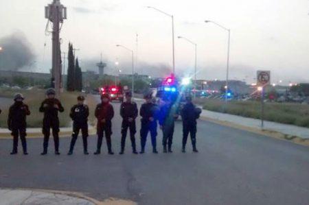 Reportan dos muertos y 13 heridos en penal de Cadereyta