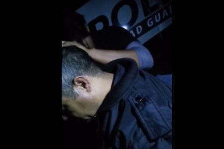 Divulgan supuesto 'exorcismo' a Policía de Guadalupe