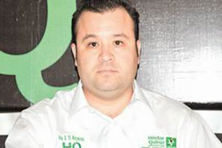 Confirma Héctor Quiroz su salida del Partido Verde Ecologista