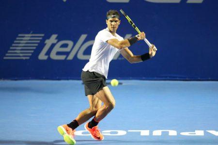 Rafael Nadal, favorito del público, llega a la final en Acapulco
