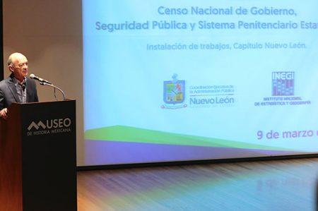Inicia Nuevo León Censo Nacional de Gobierno 2017