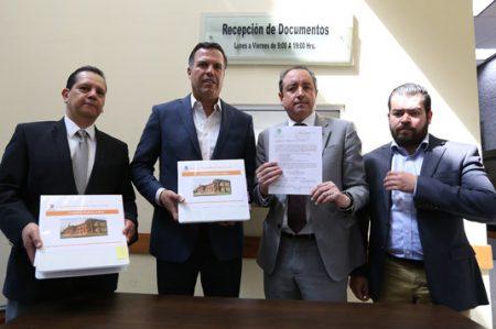 Entrega Gobierno Ciudadano al Congreso del Estado la Cuenta Pública 2016