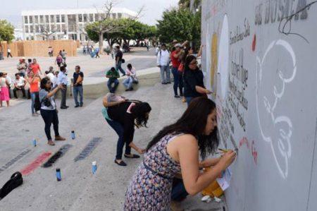 Comunicadores protestan en Chiapas por agresiones a periodistas