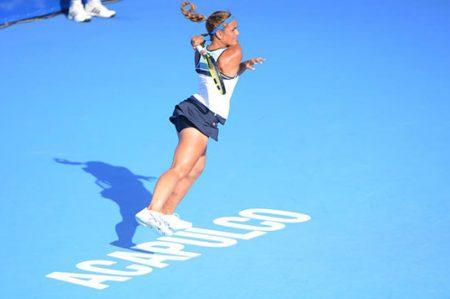 Mónica Puig vence en el femenil del Abierto Mexicano de Tenis