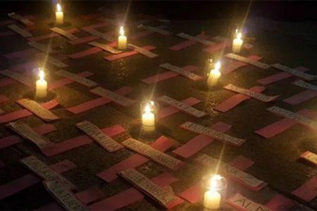 Exigen justicia para desaparecidas en Día de la Mujer