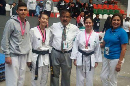 Alumnos de Tae Kwon Do de UTTN Reynosa ganan plata y bronce