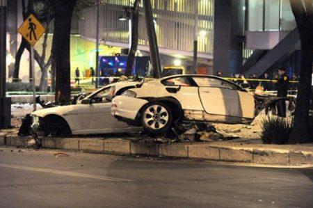 Chofer del BMW se contradice sobre sus ingresos: procurador