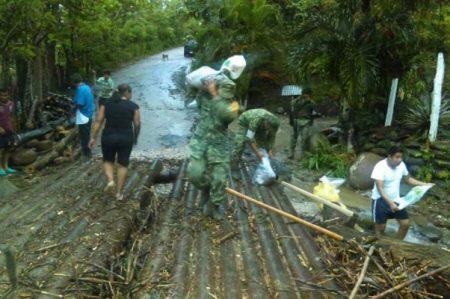 Activan Plan DN-III para 2 municipios de Tabasco por lluvias