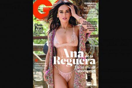Ana de la Reguera muestra su lado más sexy en revista