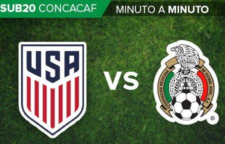 Cae México 3-4 contra EU en Premundial Sub 17