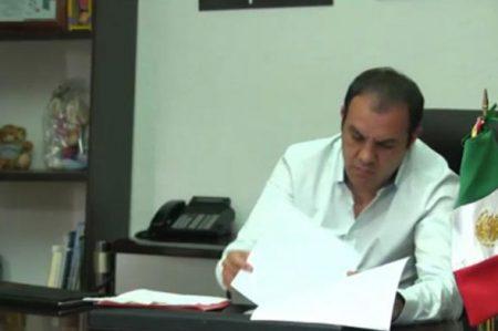 Cuauhtémoc reaparece tras 5 días ausente de Cuernavaca