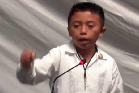 Diputado infantil reprocha 'robo descarado' de Borge en Quintana Roo