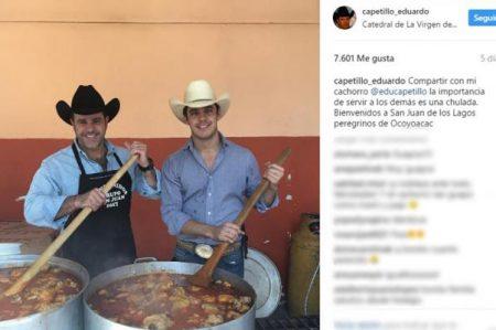 Eduardo Capetillo publica foto de su hijo 'gemelo'