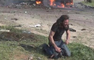 El fotógrafo que luchó contra el dolor en Aleppo