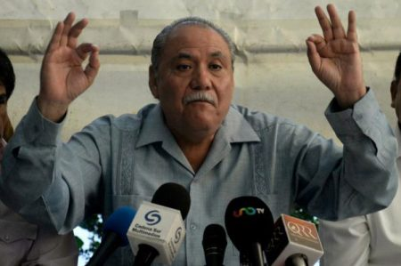 El senador Fidel Demédicis anuncia su salida del PRD
