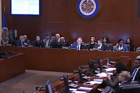 En Venezuela hay violación del orden constitucional: OEA