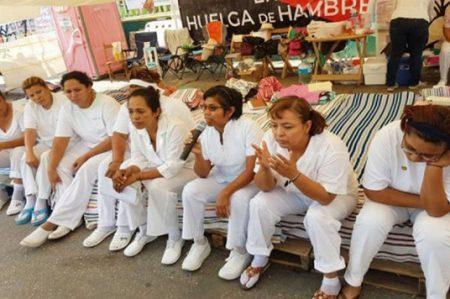 Enfermeras denuncian incumplimiento de compromisos en Chiapas
