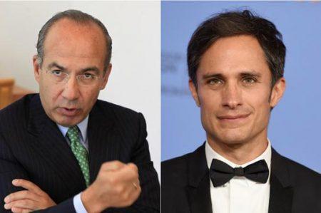 Gael García responde a tuit de Felipe Calderón