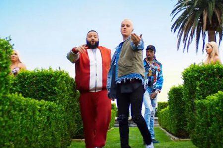 Justin Bieber rapea con Lil Wayne y DJ Khaled
