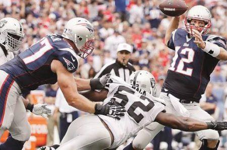 Patriots-Raiders, 19 de noviembre