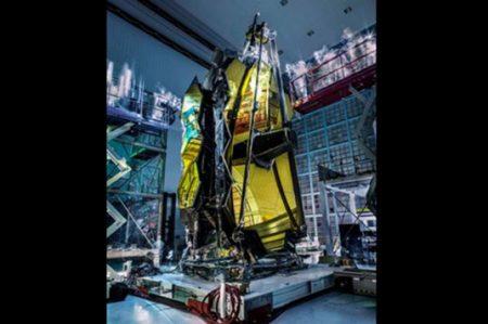Prueban al telescopio espacial JWST antes de mandarlo al espacio