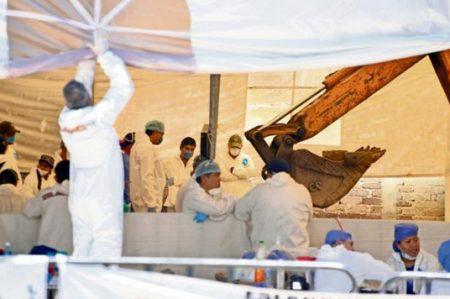 Van 78 restos humanos recuperados de fosa de Jojutla