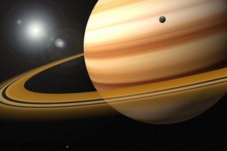 Podría haber vida microbiana en luna de Saturno: NASA
