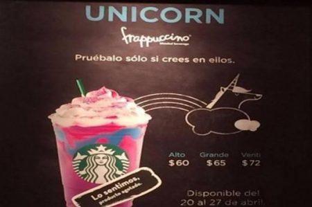 Se agota el Unicorn Frapuccino, pero llega la 'Happy Hour'