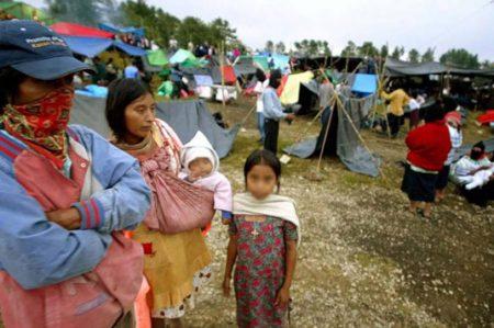 Denuncian supuesto desalojo de indígenas en Chiapas