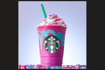 Unicornios inspiran nuevo frappuccino de Starbucks