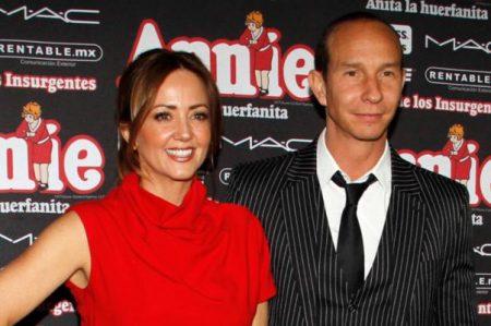 Andrea Legarreta niega divorcio de Erik Rubín