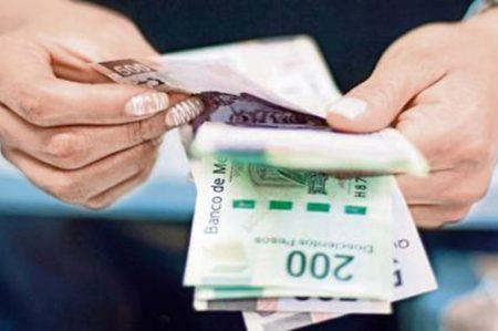 Recaudación de impuestos baja 3.5% en primer trimestre