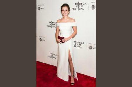 Emma Watson 'robó' miradas en Festival de Cine de Tribeca