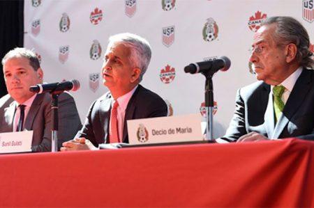 México, Canadá y EU anuncian candidatura para Mundial de 2026