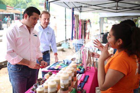 Realiza Ciudad Guadalupe el primer 'Mercado Patuno'